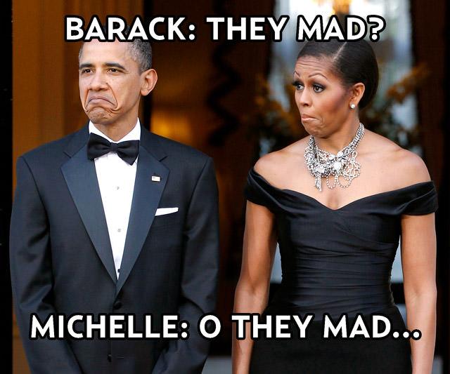 barrack michelle obama memes