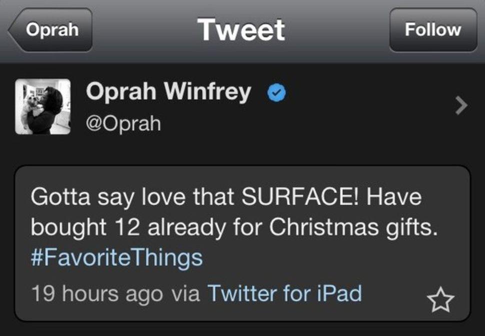 oprah winfrey epic fail
