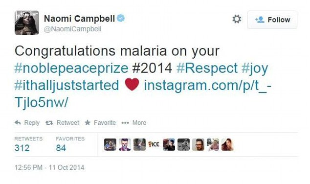 naomi campbell twitter mistakes