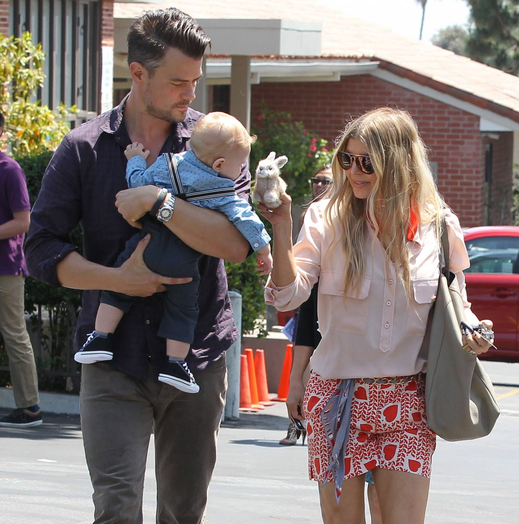 Fergie and Josh Duhamel kids