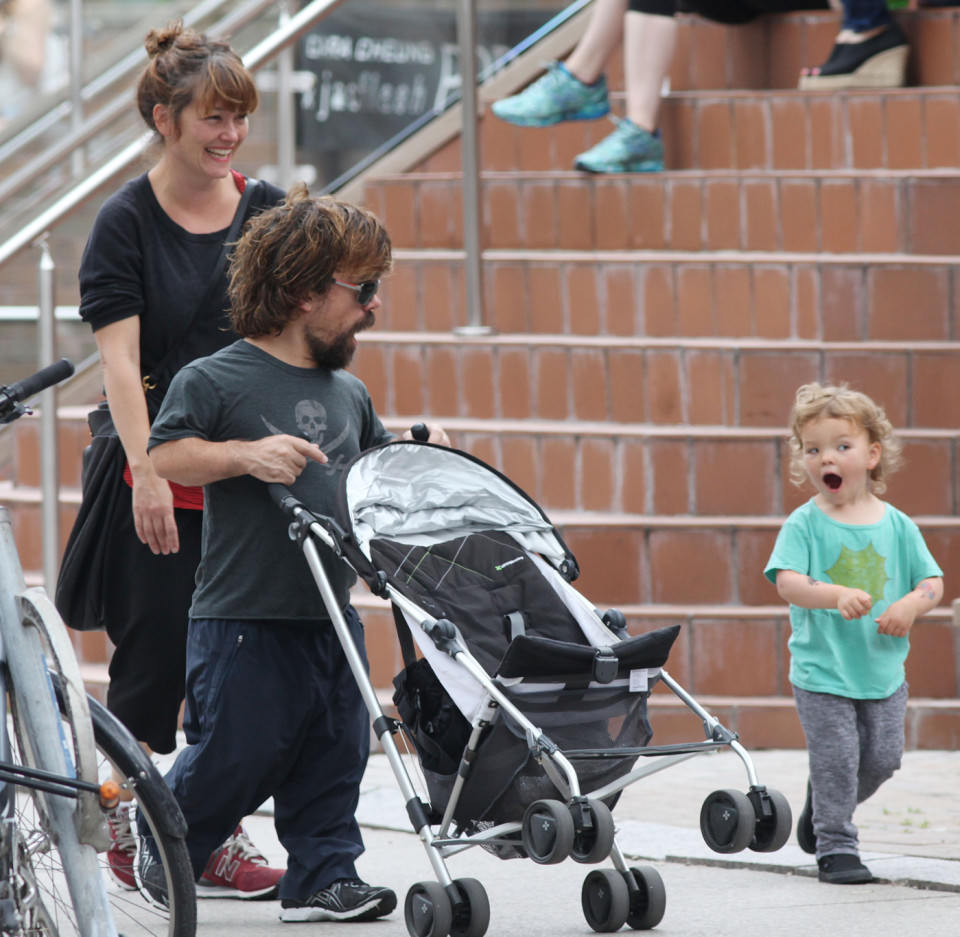 Peter Dinklage kids wife family celeb kids who are just like their celebrity parents