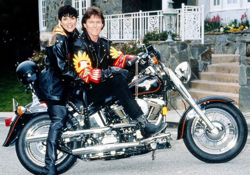 kris jenner and bruce jenner old pics