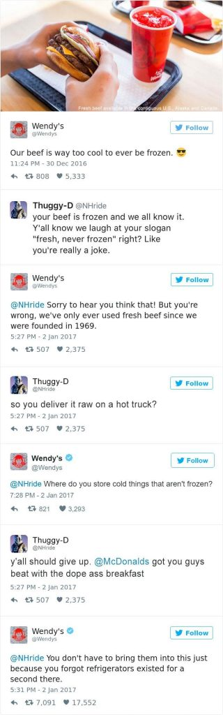 best wendy's tweets 2017-0
