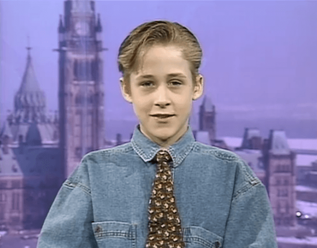 ryan gosling childhood pics