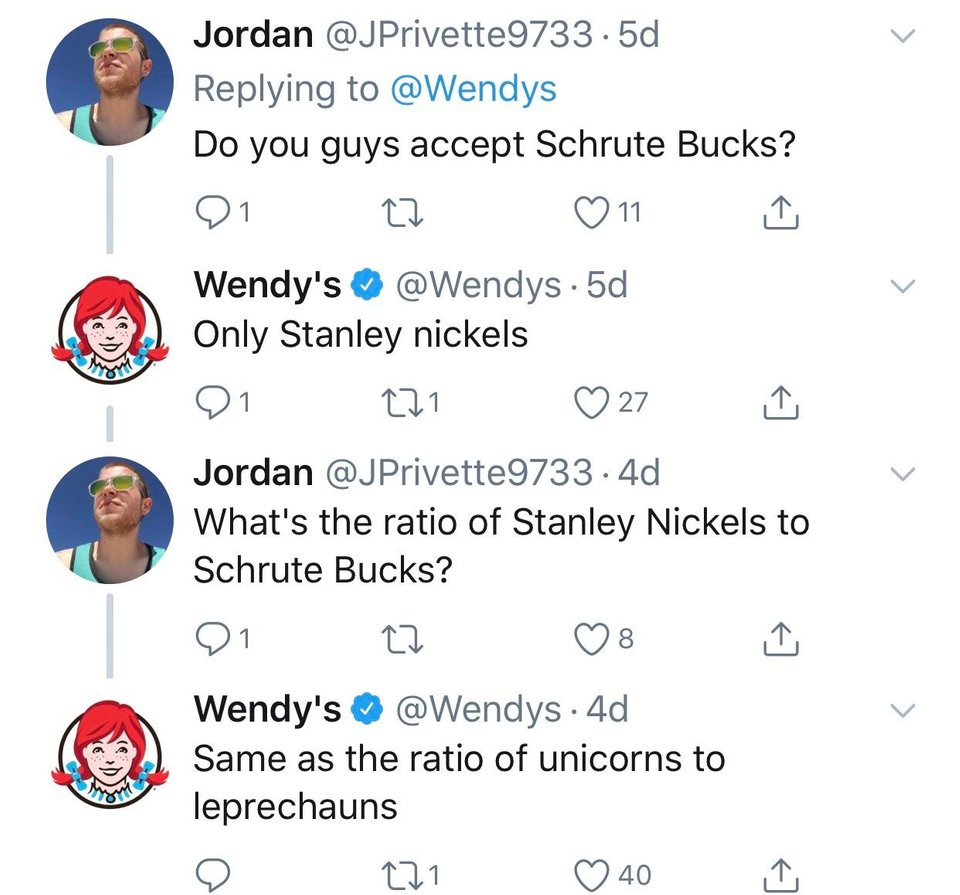 best wendy's tweets 2019-12